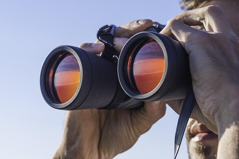 Binocular Man