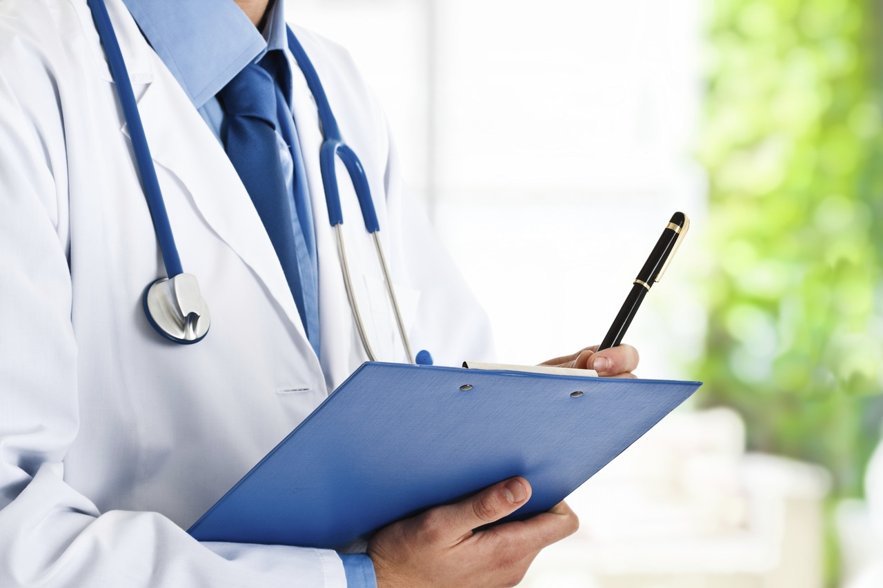 Doctor with Folder